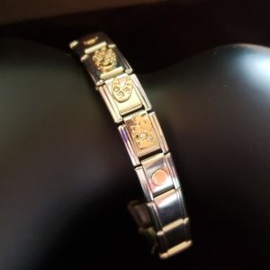 Jewelry - Beautiful Vintage Composable Charm Bracelet